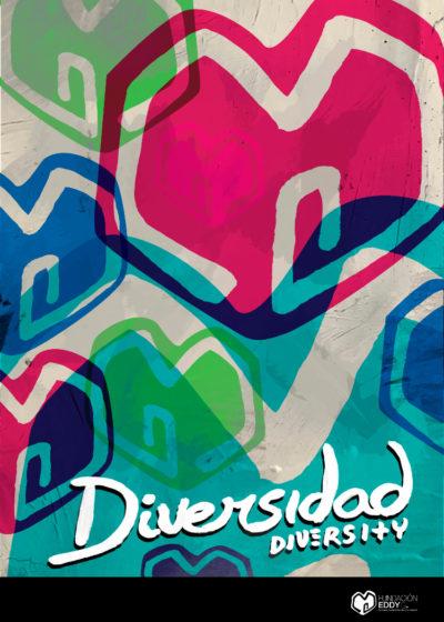 Cartel Diversidad Fundación Eddy G
