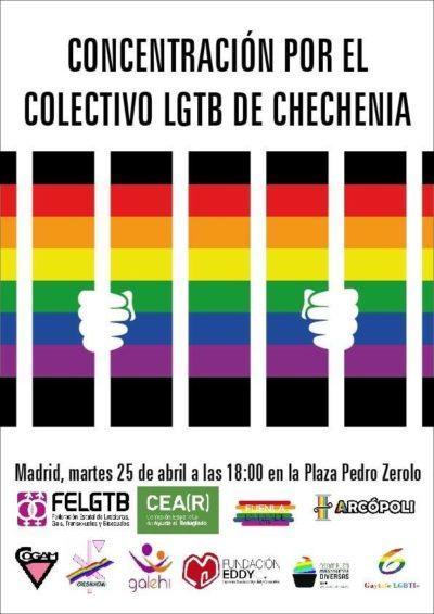 Manifiesto FELGTB en apoyo al colectivo LGTB de Chechenia