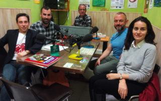 El Equipo de la Fundación Eddy-G en Onda Verde