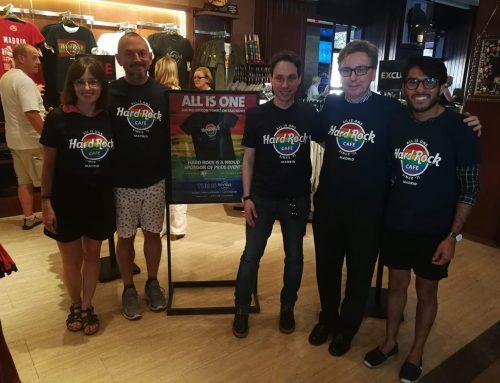Termina la campaña solidaria HardRock y Fundación Eddy-G