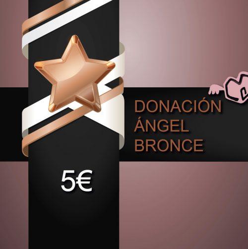 DONACION ángel BRONCE Fundación Eddy