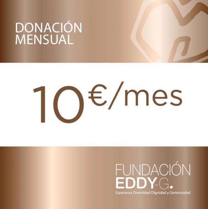 Donación mensual 10€