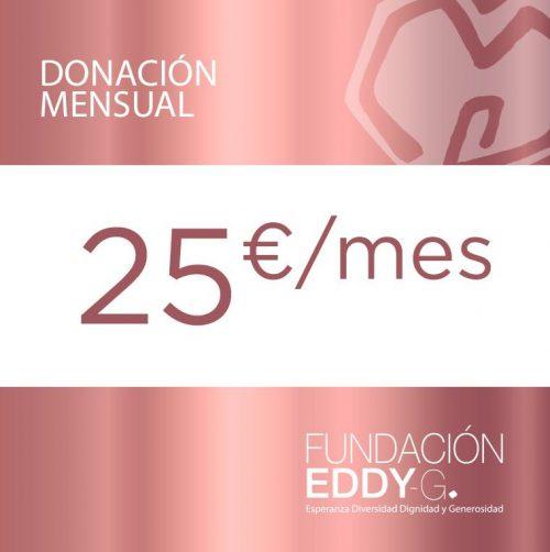 Donación Mensual 25€