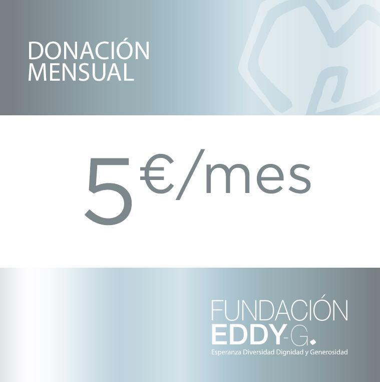 Donación mensual 5€