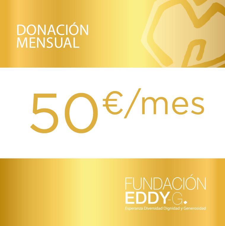 Donación mensual 50€