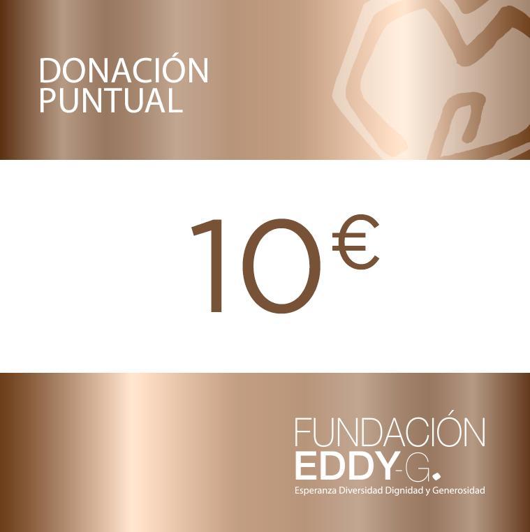 Donación puntual 10€