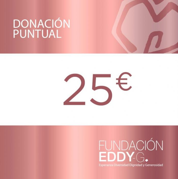 Donación puntual 25€