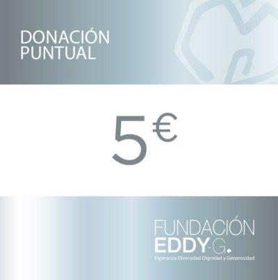 Donación puntual 5€