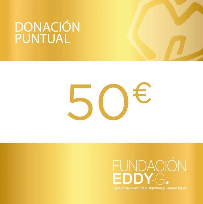 Donación puntual 50€